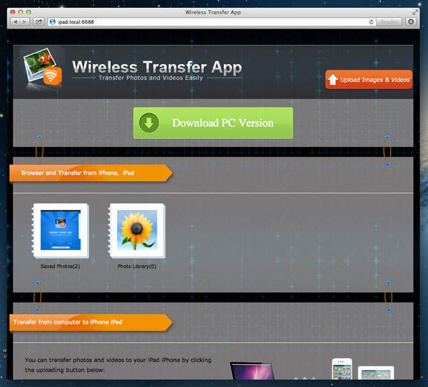 transfer video from iPod touch 4 to Mac