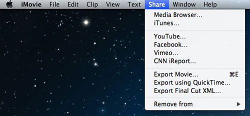 transfer videos from iPhone to Mac with iMovie