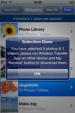 transfer pictures from iPhone to iPad